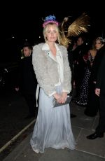 CAROLINE WINBERG Arrives at Animal Ball in London 11/22/2016