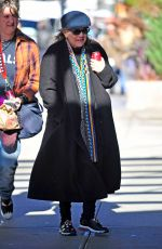 CARRIE FISHER Out and About in New York 11/23/2016