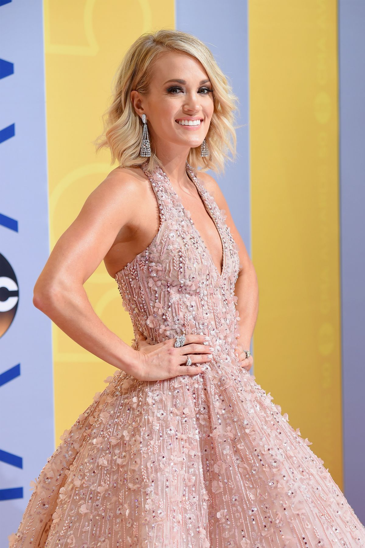 CARRIE UNDERWOOD at 50th Annual CMA Awards in Nashville 11/02/2016