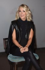 CARRIE UNDERWOOD Promotes Carnival Vista Cruise Ships Port 88 in New York 11/04/2016