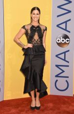 CASSADEE POPE at 50th Annual CMA Awards in Nashville 11/02/2016