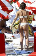 CATARINA SPINETTA on Bikini at a Beach in Miami 11/19/2016