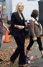 CATE BLANCHETT on the Set of
