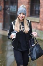 CATHERINE TYLDESLEY Leaves Key 103 Radio in Manchester 11/14/2016