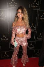 CHANTELLE CONNELLY at Sugar Hut Liverpool Launch Night 11/23/2016