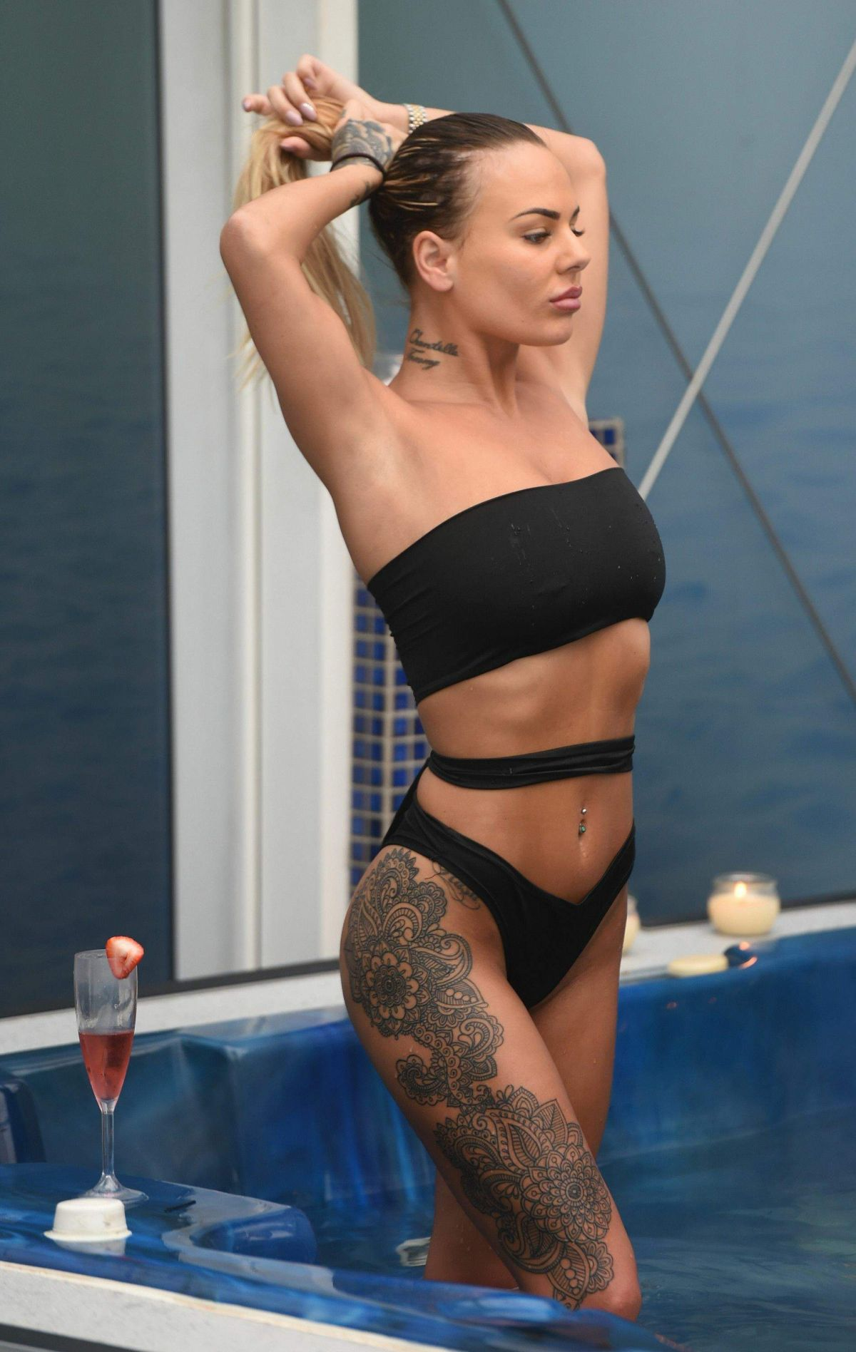 CHANTELLE CONNELLY in Bikini at a Spa in Liverpool 11/22/2016