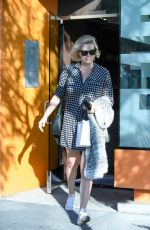 CHARLIZE THERON Leaves a Spa in West Hollywood 11/22/2016