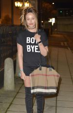 CHARLOTTE CROSBY Night Out in Newcastle 11/08/2016