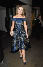 CHARLOTTE HAWKINS at ITV Gala Afterparty in London 11/24/2016