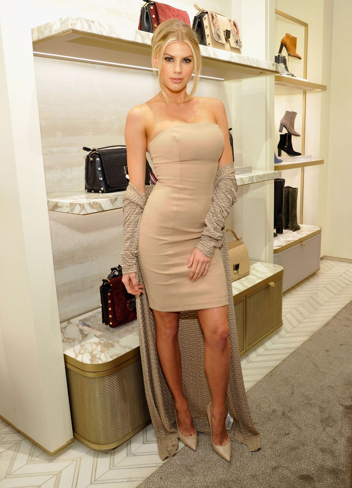 CHARLOTTE MCKINNEY at An Evening to Support DKMS in Beverly Hills 11/03/2016
