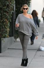 CHARLOTTE MCKINNEY Out and About in Los Angeles 11/18/2016