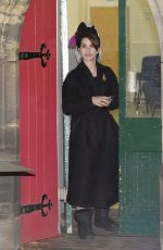 CHARLOTTE RILEY on the Set of