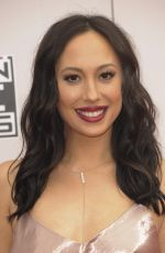 CHERYL BURKE at 2016 American Music Awards at The Microsoft Theater in Los Angeles 11/20/2016