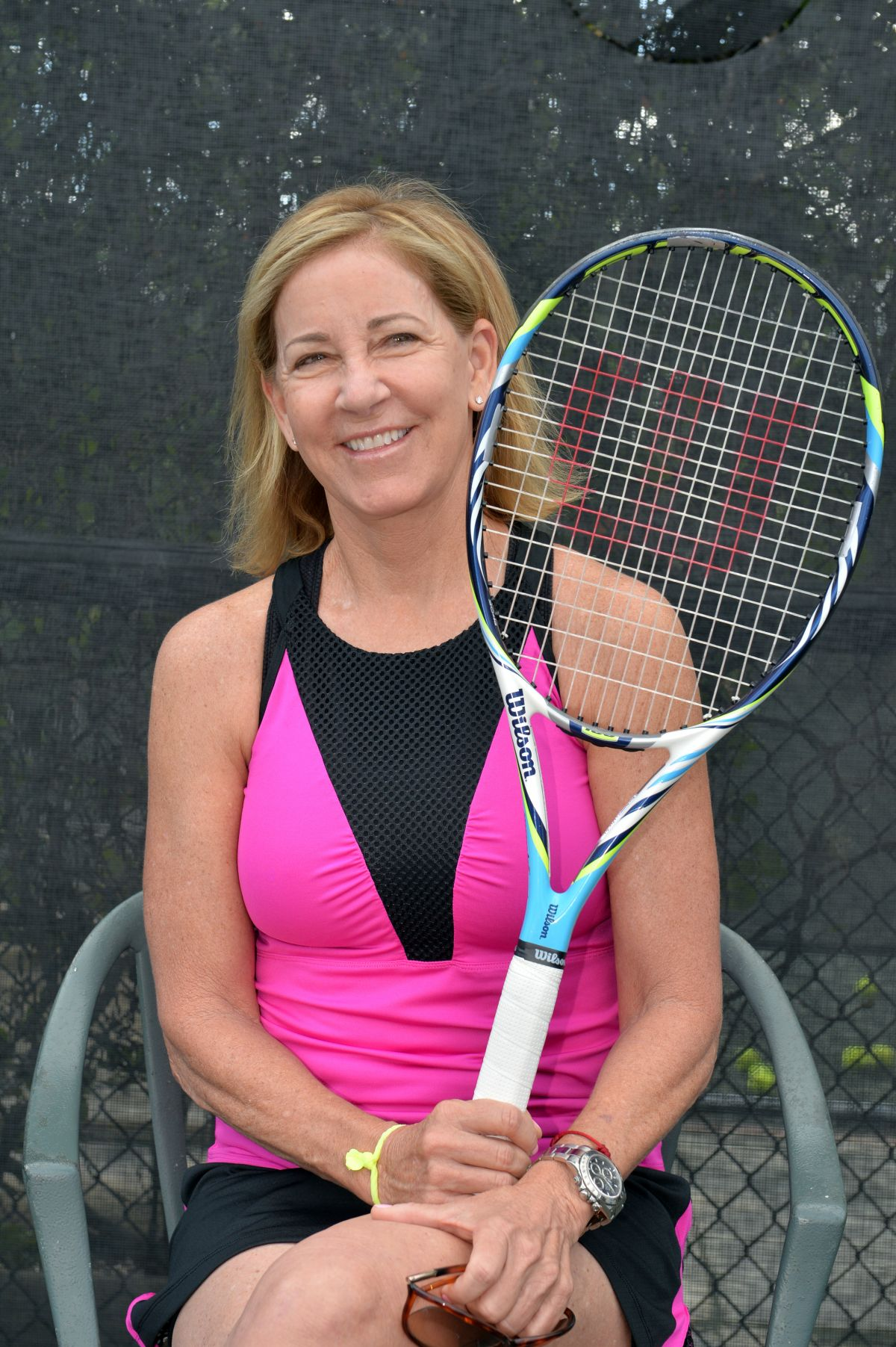 CHRIS EVERT at 27th Annual Chris Evert Raymond James Pro celebrity