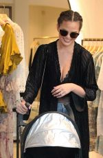CHRISSY TEIGEN Out Shopping in West Hollywood 11/09/2016
