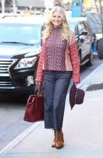 CHRISTIE BRINKLEY Out and About in New York 11/17/2016