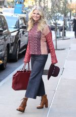 CHRISTIE BRINKLEY Out and About in NeEw York 11/17/2016