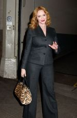 CHRISTINA HENDRICKS at AOL Studios in New York 11/14/2016
