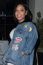 CHRISTINA MILIAN at Catch LA in West Hollywood 10/21/2016
