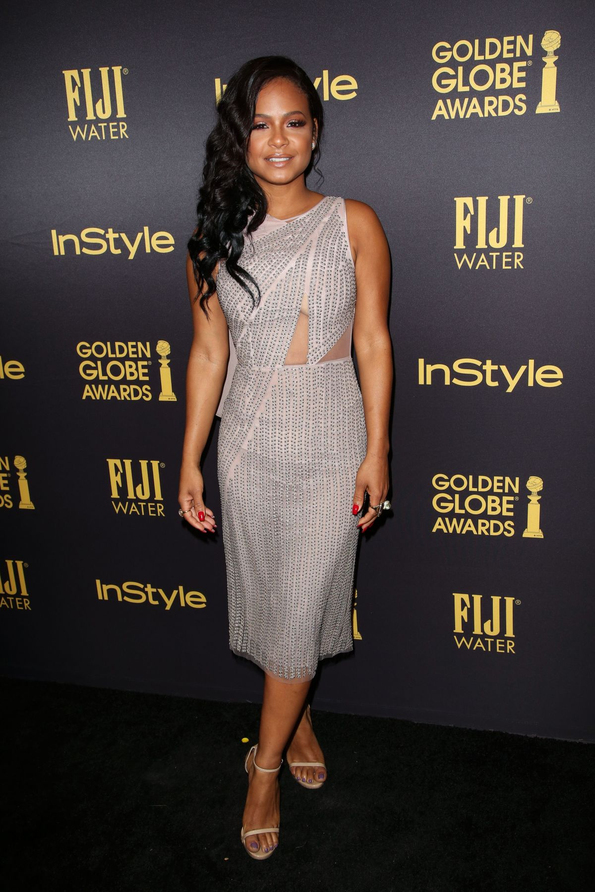 CHRISTINA MILIAN at HFPA & Instyle