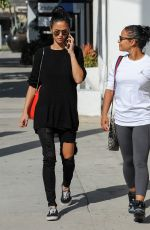 CHRISTINA MILIAN Out in Los Angeles 11/07/2016