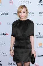 CHRISTINA RICCI at 44th International Emmy Awards in New York 11/21/1016