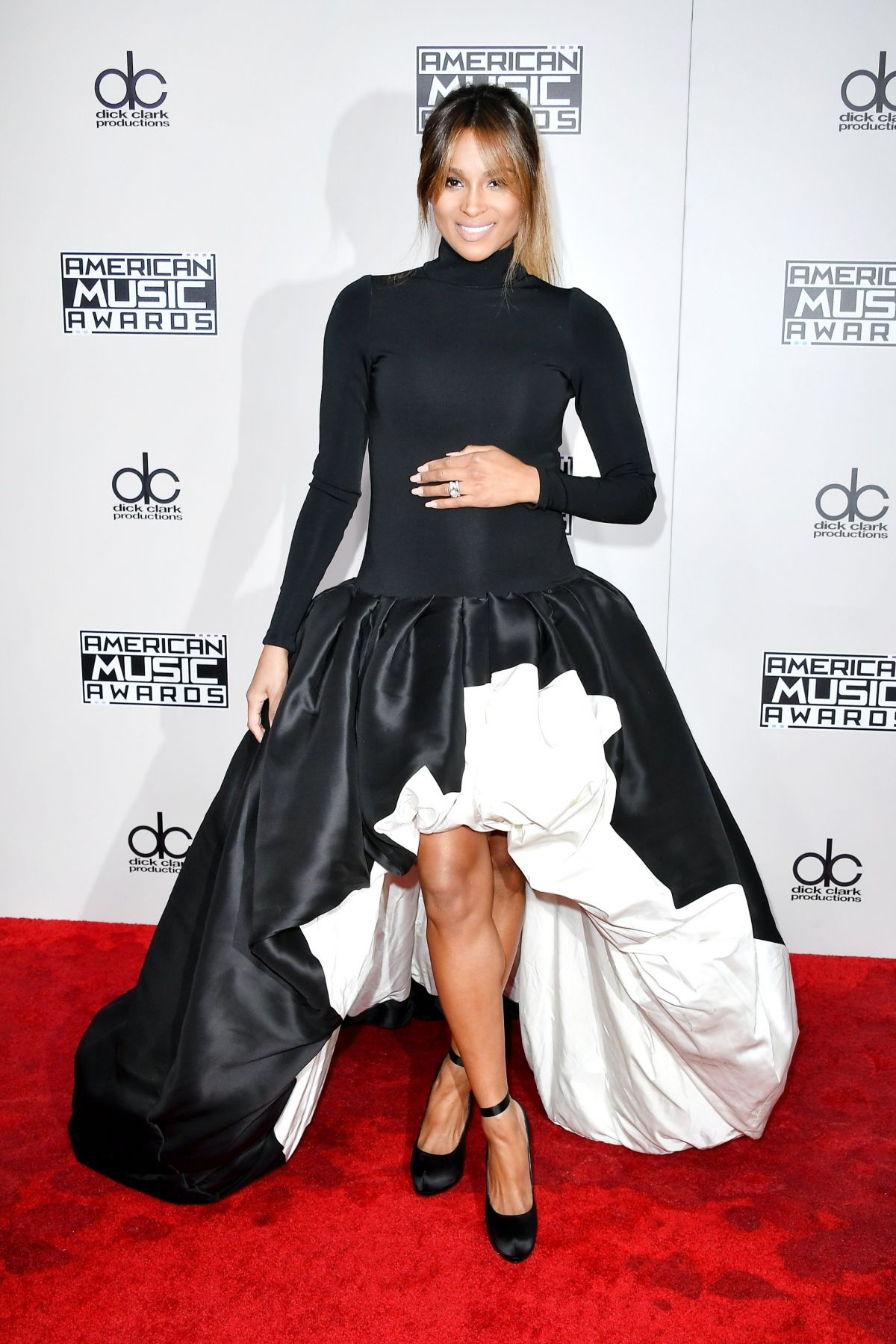 CIARA at 2016 American Music Awards at The Microsoft Theater in Los Angeles 11/20/2016