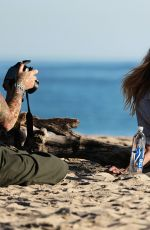 CLAUDIA COUTURE at 138 Water New Campaign Photoshoot in Malibu 11/10/2016