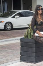 CLAUDIA ROMANI Out and About in Miami 11/20/2016