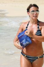 COLEEN ROONEY in Bikini at a Beach in Barbados 11/01/2016