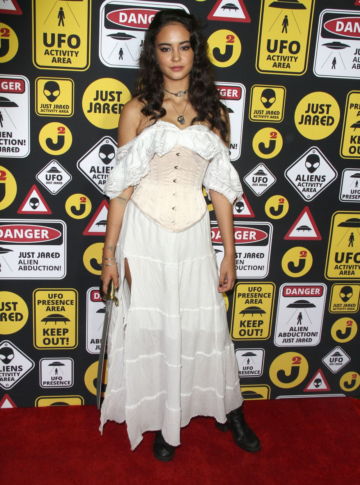 COURTNEY EATON at Just Jared's Annual Halloween Party in Los Angeles 10/30/2016