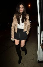 CRYSTEL REED at Catch LA in West Hollywood 11/22/2016