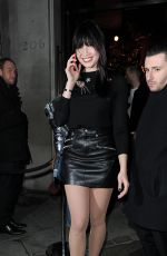 DAISY LOWE at Coach Fashion Launch Store Opening in London 11/24/2016