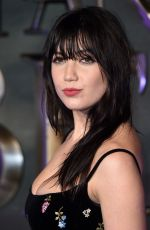 DAISY LOWE at 'Fantastic Beasts and Where to Find Them' Premiere in London 11/15/2016