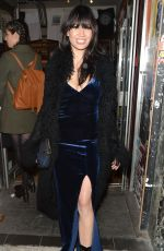 DAISY LOWE Night Out in London 11/03/2016