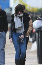 DAISY LOWE Out and About in London 11/26/2016