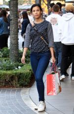 DANAY GARCIA Shopping at The Grove in Hollywood 11/25/2016