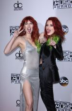DANI and BELLA THORNE at 2016 American Music Awards at The Microsoft Theater in Los Angeles 11/20/2016
