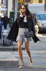 DANIELA BRAGA at Victoria's Secret Fashion Show Model Fittings in New York 11/04/2016