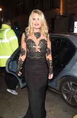 DANIELLE ARMSTRONG at ITV Gala Afterparty in London 11/24/2016