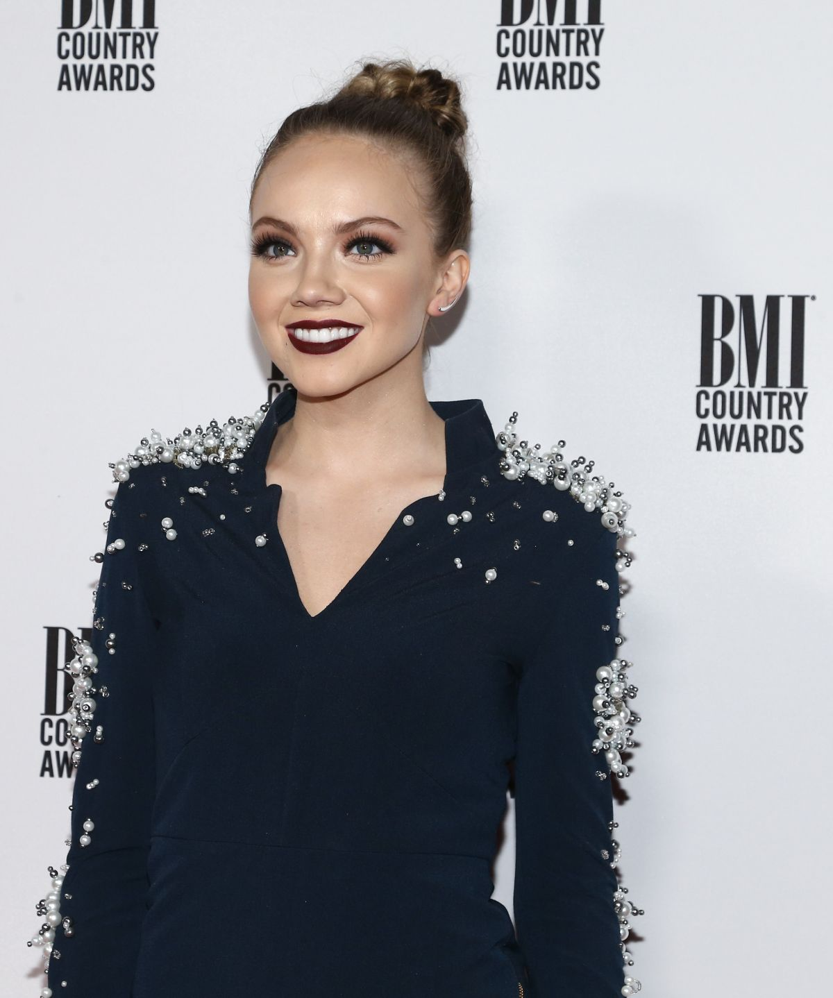 DANIELLE BRANDBERY at 64th Annual BMI Country Awards in Nashville 11/01/2016