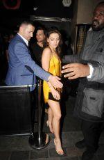 DANIELLE CAMPBELL Leaves Cirque Le Soir Nightclub in London 10/31/2016