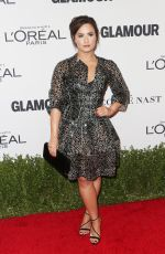 DEMI LOVATO at Glamour Women of the Year 2016 in Los Angeles 11/14/2016