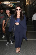 DEMI LOVATO at LAX Airport in Los Angeles 11/16/2016