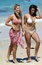 DEVIN BRUGMAN and NATASHA OAKLEY in Bikinis at a Photoshoot at Bondi Beach in Sydney 11/16/2016