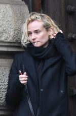 DIANE KRUGER on the Set of a Project in Hamburg 11/15/2016