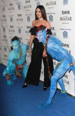 EIZA GONZALEZ at Cirque Du Soleil