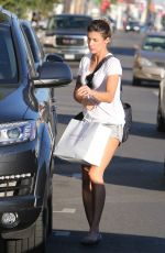 ELISABETTA CANALIS Out Shopping in West Hollywood 11/08/2016