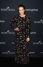 ELIZABETH HENSTRIDGE at 2nd Annual Baby Ball Gala in Los Angeles 11/11/2016