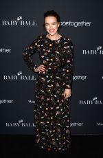 ELIZABETH HENSTRIDGE at 2nd Annual Baby Ball Gala in Los Angeles 11/11/2016
